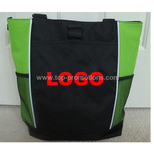 Personalized Zippered Tote Bag - Irish Girl Dancer