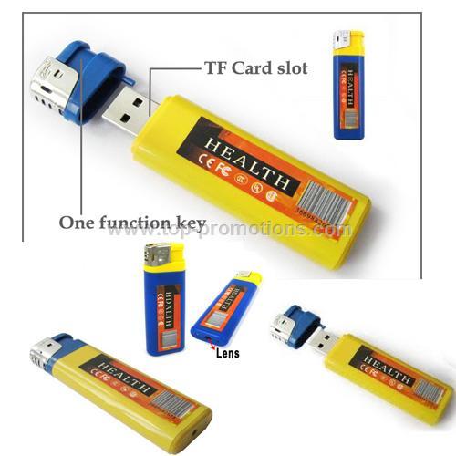 Lighter hidden DV USB Mini DVR Hidden Video Camera