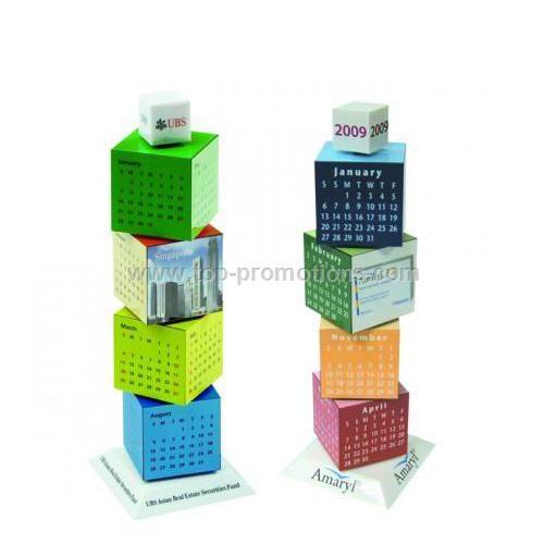 Revolving Calendar Tower