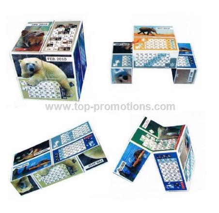 Magic Calendar Cube