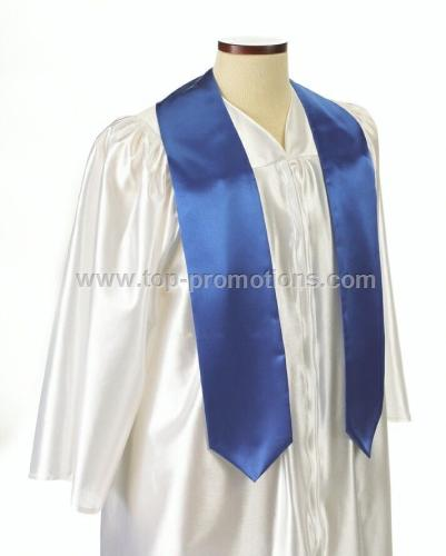 Wolfmark Extra Long Royal Blue Graduation Sash
