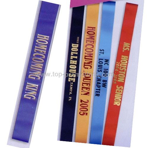 Custom Sashes