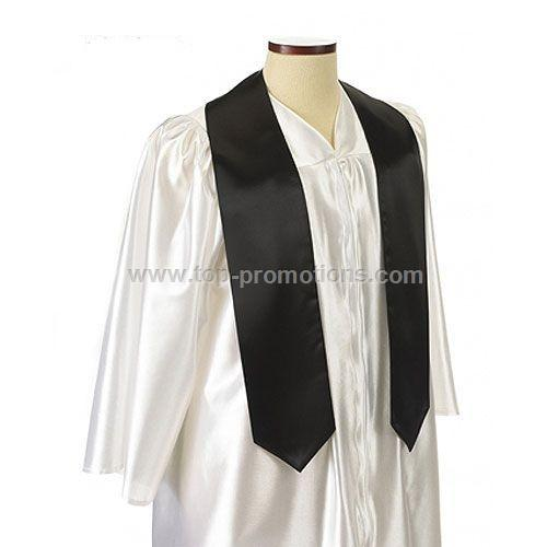 Graduation Sash Color - BLACK
