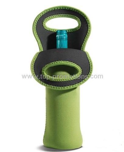 Neoprene Single Wine Bottle Cooler