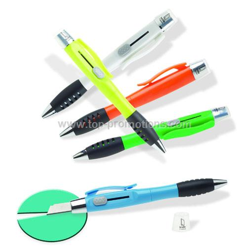 No Fly Pen Combination ballpoint pen and box knife