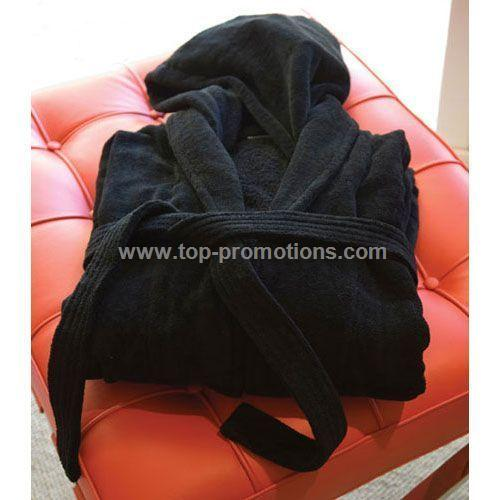 Retreat Hooded Velour Bathrobe