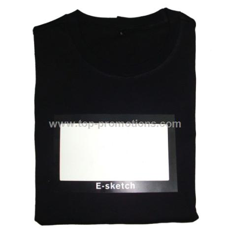 EL writing board t-shirt