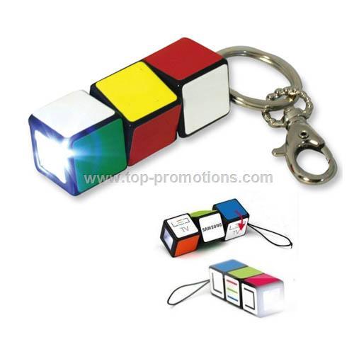 Rubik Cube Flashlight