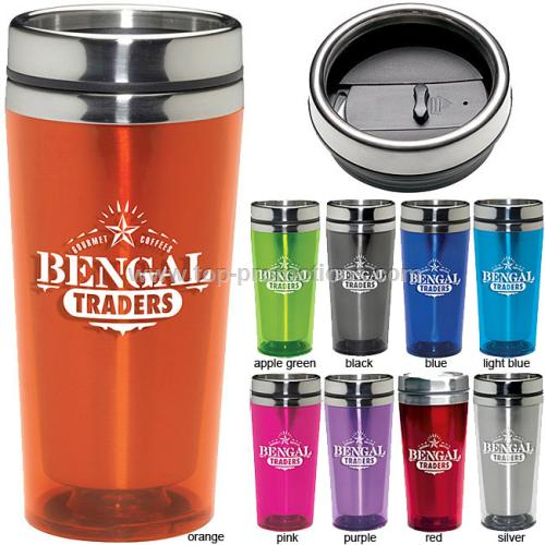 16oz Colored Acrylic Tumbler