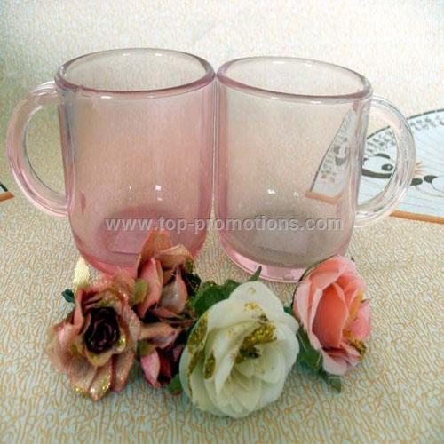 Light Pink Acrylic Mug