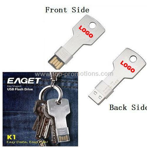 Creative Key Shaped USB Flash Drive