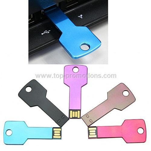 Key Shaped USB Flash Disk