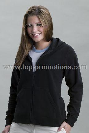 Women s Vantek Microfiber Full Zip Hoodie