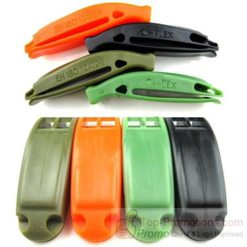 FLEX New Soft Plastic Double Frequency Whistle
