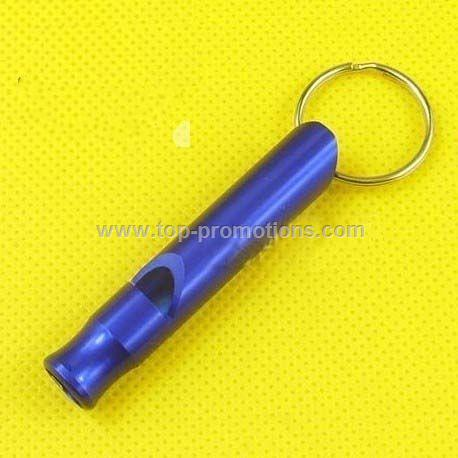 whistle keychain