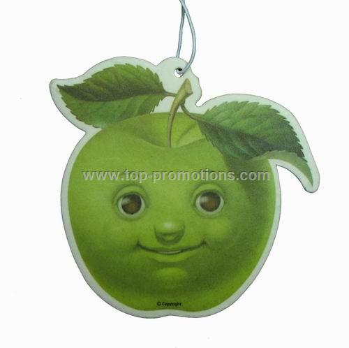 Novelty Apple Design - Paper Car Air Freshener