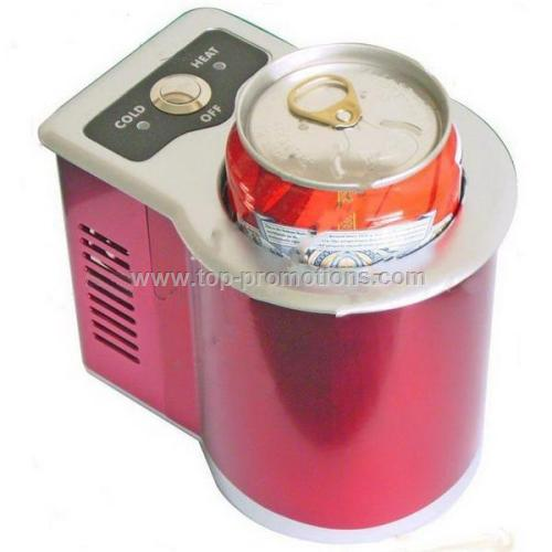 Car Refrigerator with 500mL Capacity and LED Displ