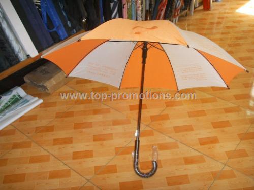 Children Straight Umbrella With Whistle