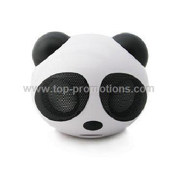 Mini Speaker in panda shape