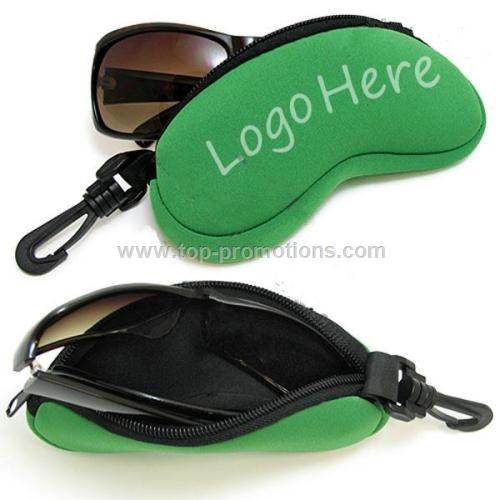 Neoprene Glasses Holder Promotional items with logo printing sunglasses bags