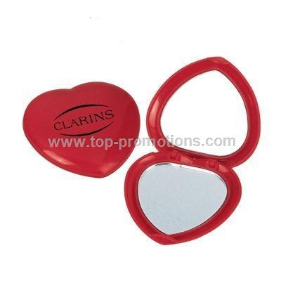 Heart-shaped Makeup Mirror