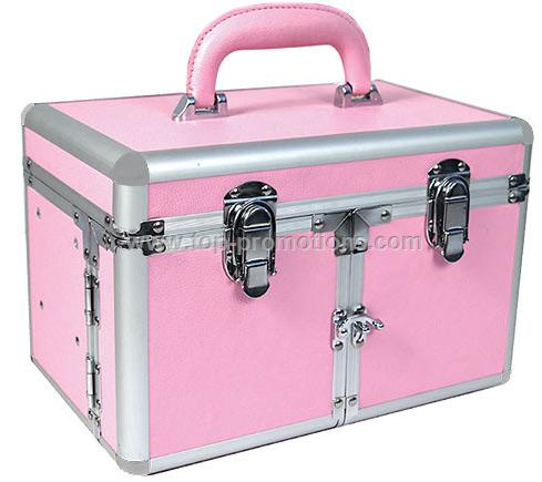 Pink Studio Makeup Case