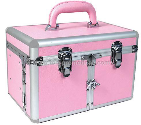 Pink Studio Makeup Case