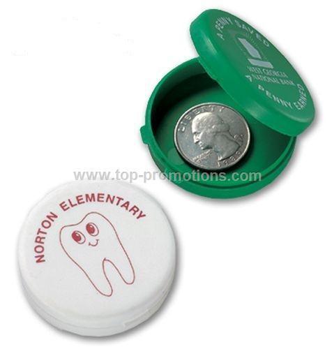 Round Coin Case