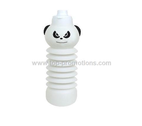 collapsible water bottle Panda shaped