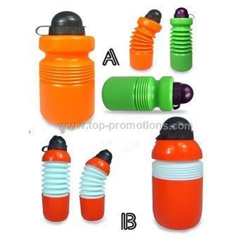 Foldable sports bottles