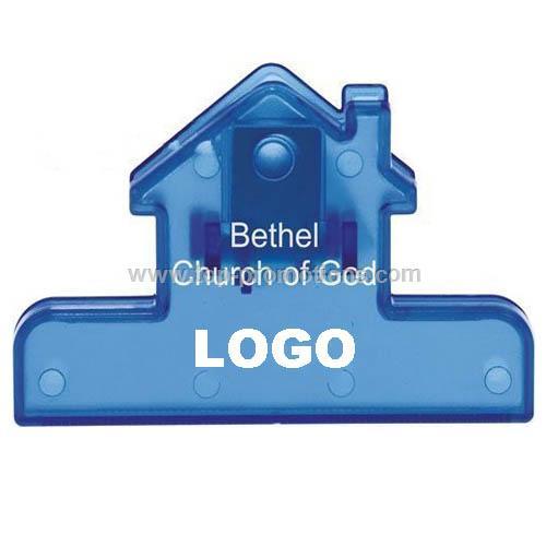 4 House Bag Clip