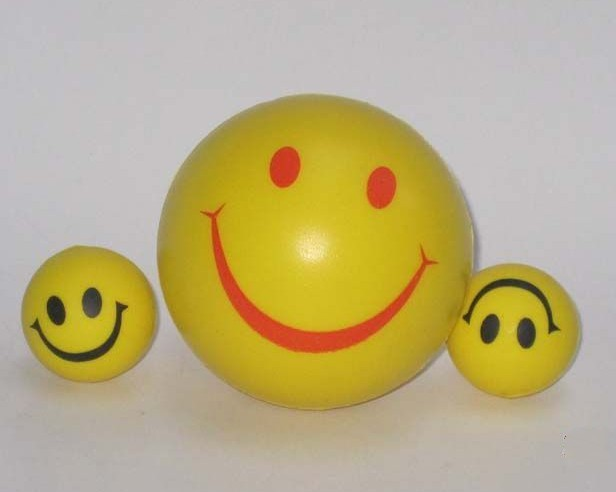 Smiley Face Stress Ball - Budget