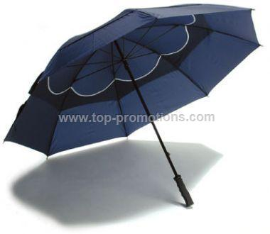 Wind Cheater Umbrella Black