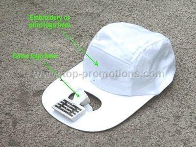 Solar Cooling Fan Cap
