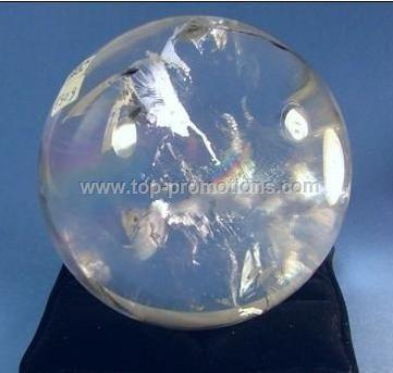 NATURAL CRYSTAL BALL