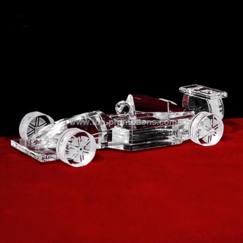 10 is 3d Crystal Racing Car