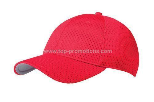 Polyester mesh baseball cap