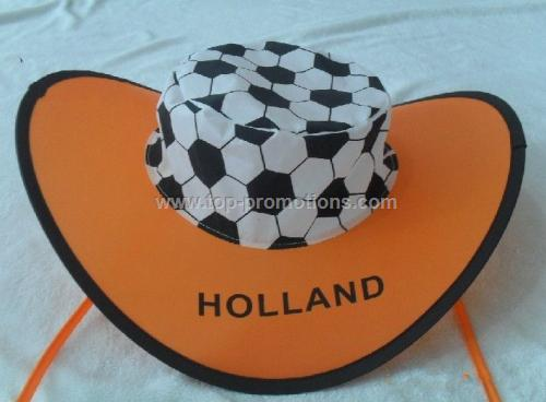Folding Cap with strings