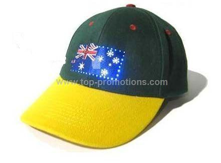 Flash light cap.LED cap