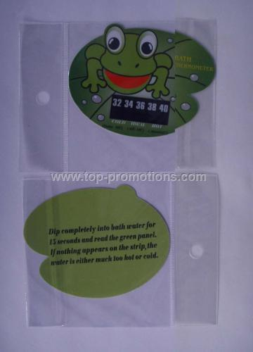 Bath safe water temperature cards