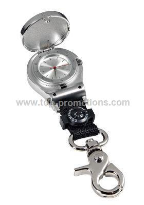 Pocket Watch With Compass