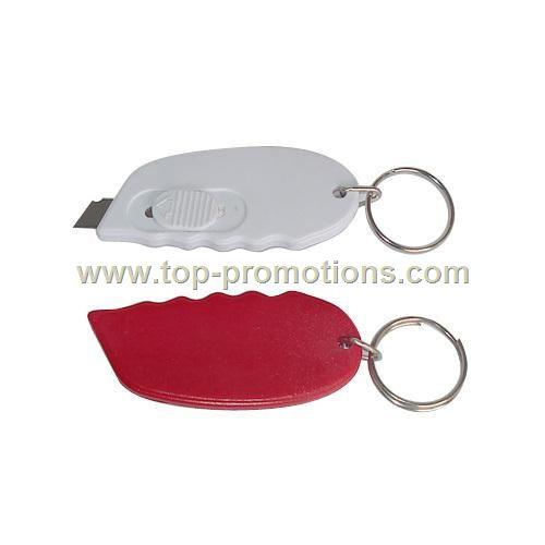Letter opener key chain
