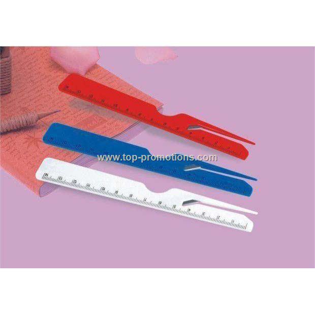 Ruler letter opener