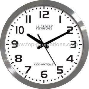 16-Inch Metal Wall Clock