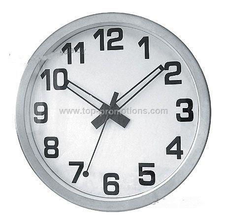 12 Gaint Metal Wall Clock