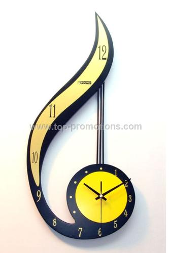 Number 6 wall clock