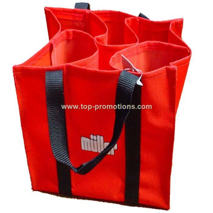 6 bottle wine bags
