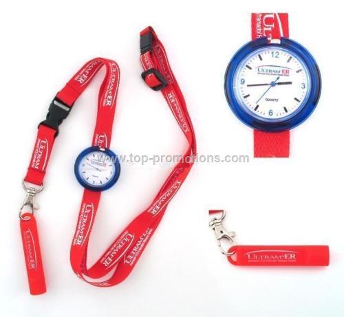 Lanyard watch