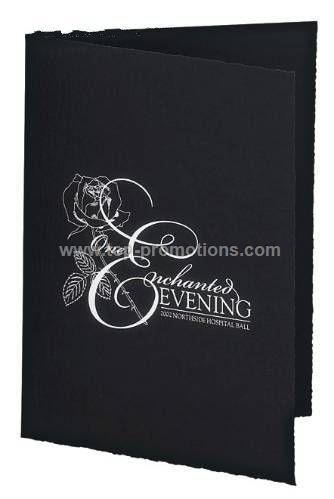 Portrait Folder Black Cardboard Picture Frame 4 in