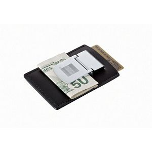 Zippo Leather Money Clip